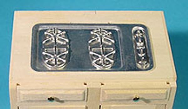 HW13432 - Kitchen Cabinet Kit - Stove Top - Metal