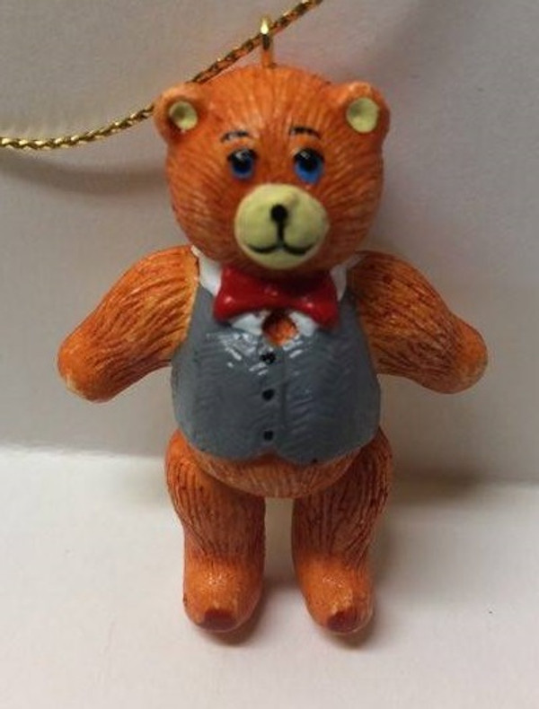 Dollhouse Miniature - YM0128-2 - Christmas Bear