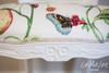 PRE ORDER: Floral carved armchair - Secret Garden
