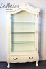 PRE ORDER: Glass display cabinet - single door