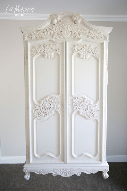 PRE ORDER: Carved Armoire