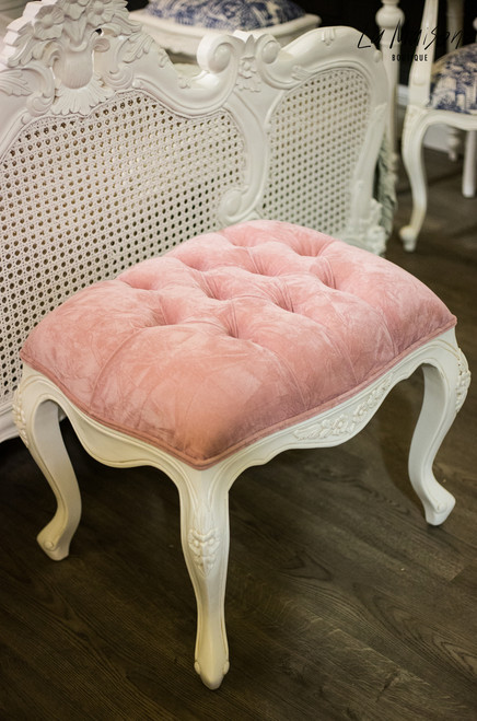 IN STOCK NOW: Laura Stool - PINK