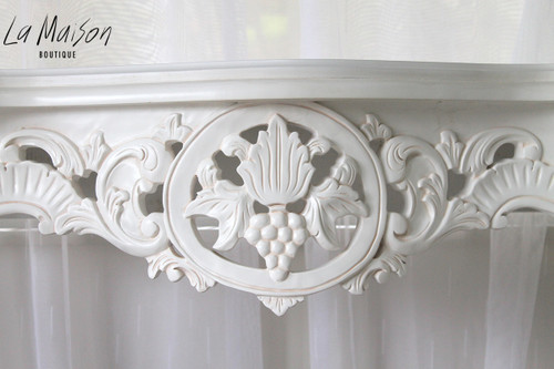 PRE ORDER: Grape Carved Console Table