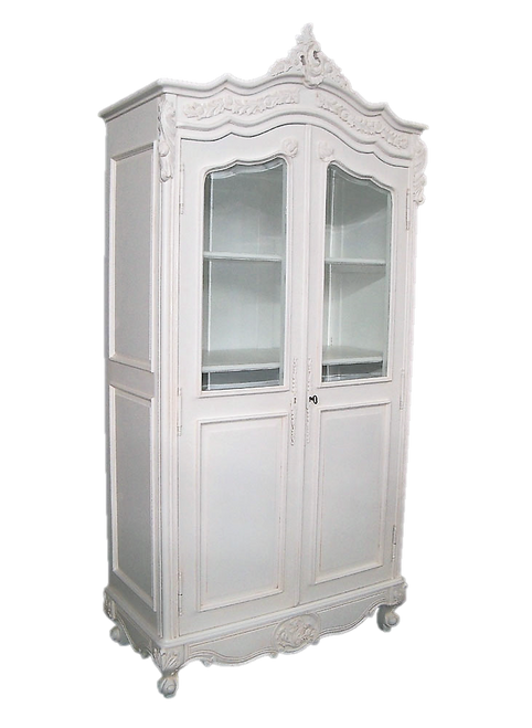 PRE ORDER: Display Cabinet - glass top