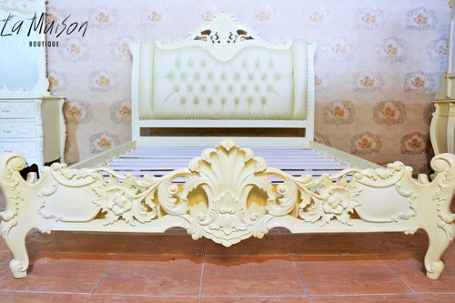 PRE ORDER: Colmar bed - low end - Queen size