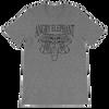 Classic Tribal Head Unisex short sleeve t-shirt - Deep Heather