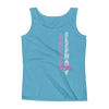 Straight like that! Ladies' Tank - Caribbean Blue