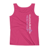 Straight like that! Ladies' Tank - Hot Pink