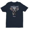 BuyArt/NotIvory-Short sleeve men's t-shirt - Midnight Navy