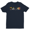BA\NI short sleeve men's t-shirt - Midnight Navy