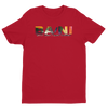 BA\NI short sleeve men's t-shirt - Red