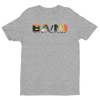 BA\NI short sleeve men's t-shirt - Heather Grey