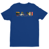 BA\NI short sleeve men's t-shirt - Royal Blue