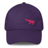 Pink Elephant Awareness Month- Dad Cap - Purple