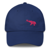 Pink Elephant Awareness Month- Dad Cap - Royal Blue