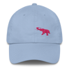 Pink Elephant Awareness Month- Dad Cap - Carolina Blue