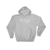 BANI- Angry Elephant Signature Hoody - Grey/White