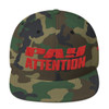 P.A-RED Snapback Hat