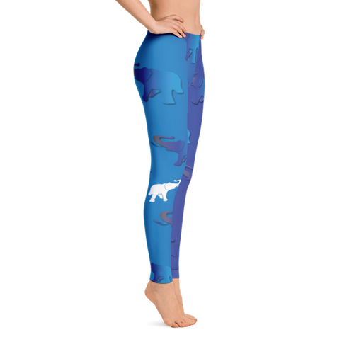 AE Elephants Everywhere Leggings - Right