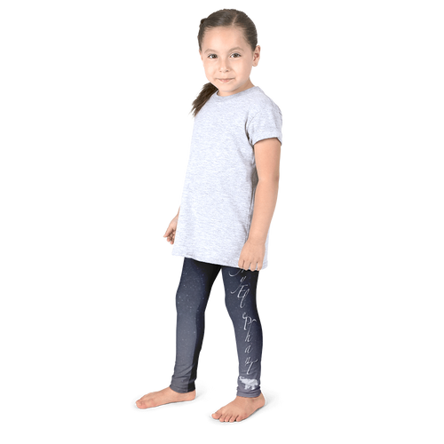 AE Galaxy Kids Leggings - Left