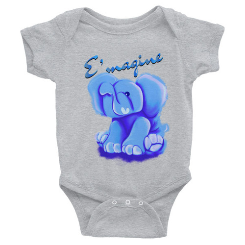 E'magine Blue Infant Bodysuit