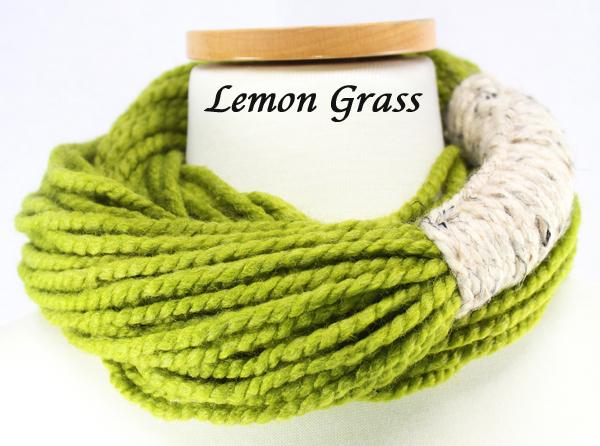 Bora Scarf 䋢 - Lemon Grass