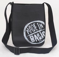 Recycled Tire Tube Perfect for iPad Bag  - White Made in Barrio