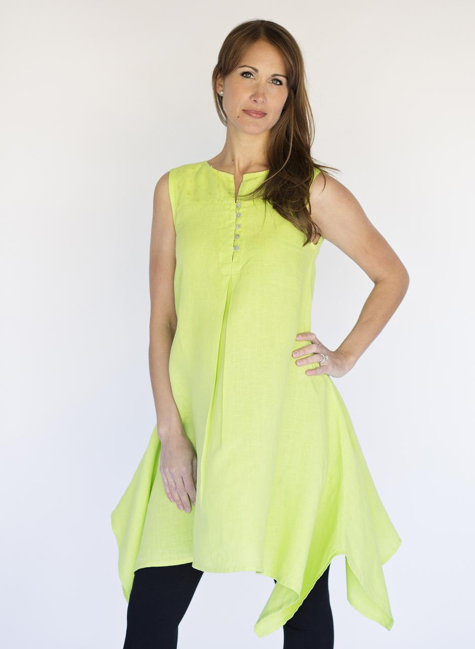 Mona Lisa Vest - Kiwi Green