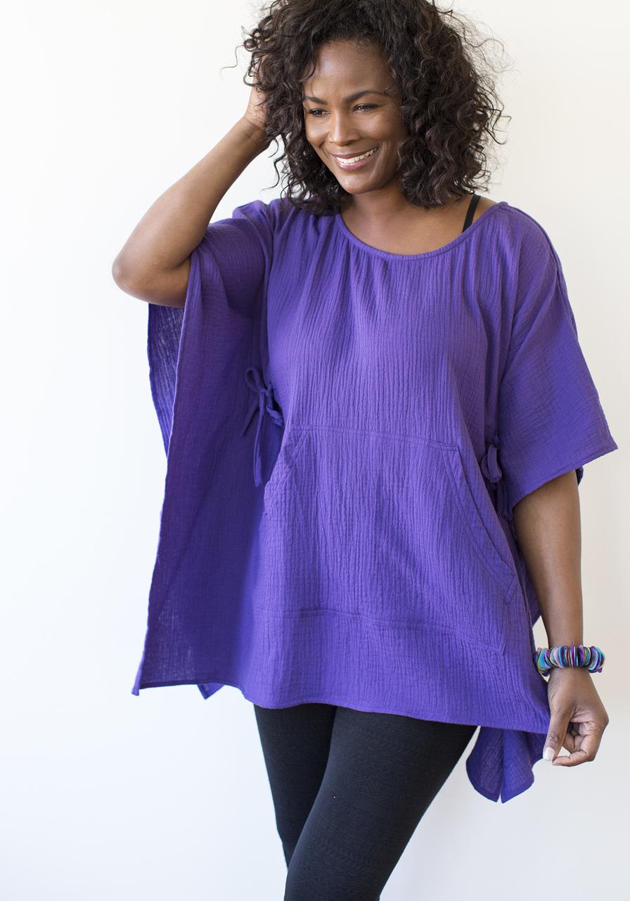 Gaucha Tunic - Purple