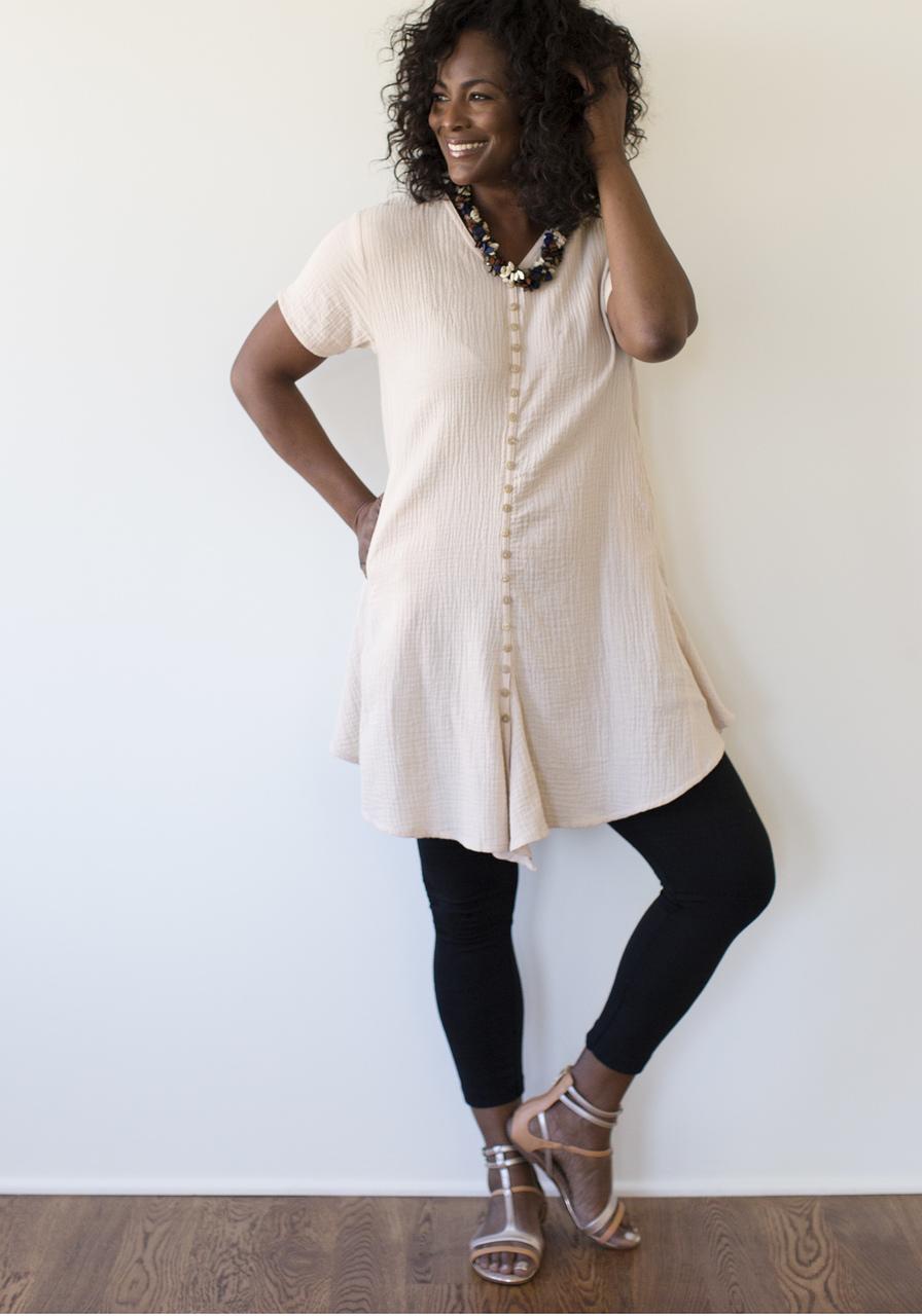 Coco Dress - Natural