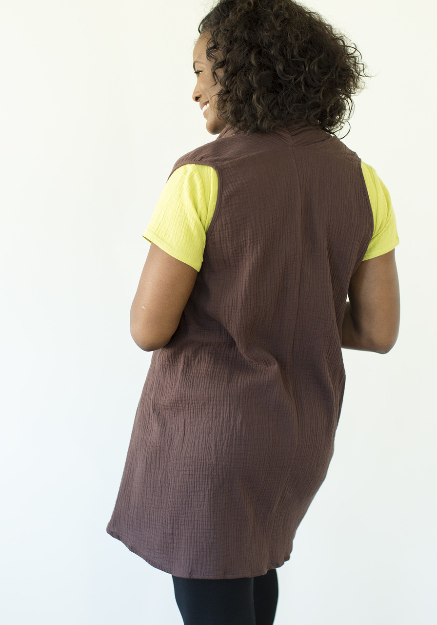 Coco Vest - Brown