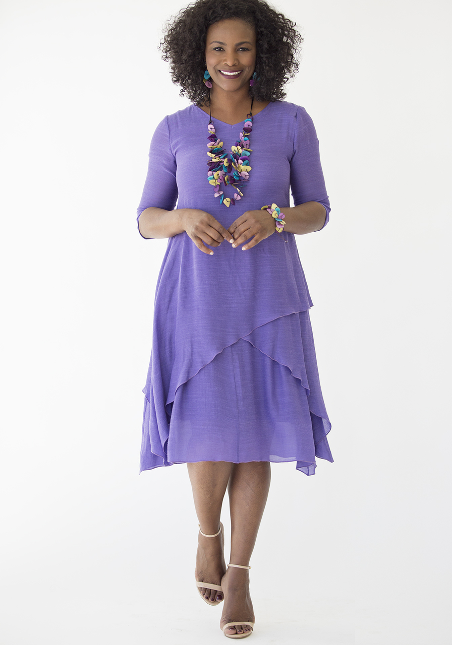Athena Dress – Violet