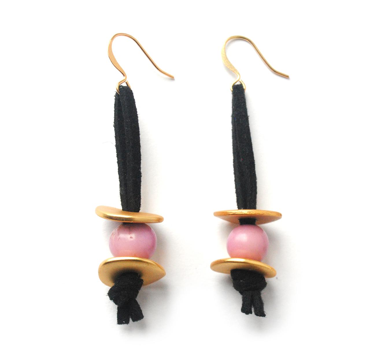Meteor Shower Earrings –Lavender