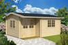 The Berkshire 53 5m x 3m Log Cabin