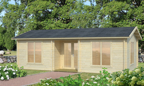 The Anna 2 Log Cabin is a wonderful multi-room holiday home made from 70mm thick logs from Palmako.