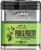 TRAEGER SPC171 PORK AND POULTRY RUB 9.25 OUNCE TIN