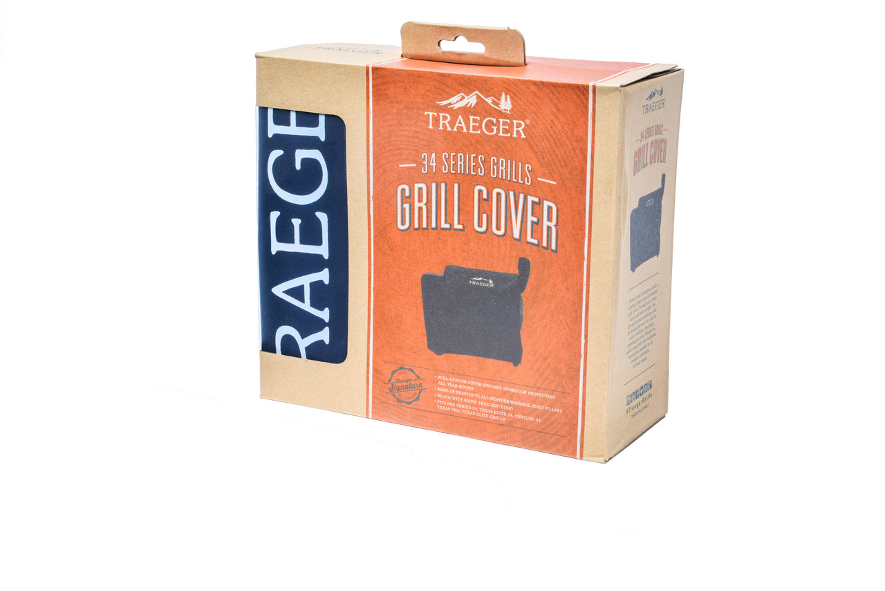 BAC380 TRAEGER FULL-LENGTH GRILL COVER - 34 SERIES