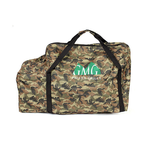 Green Mountain Grills Davy Crockett tote bag Camo GMG 6015