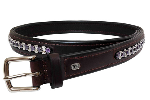 "Belt Full 1"" Amethyst Design"