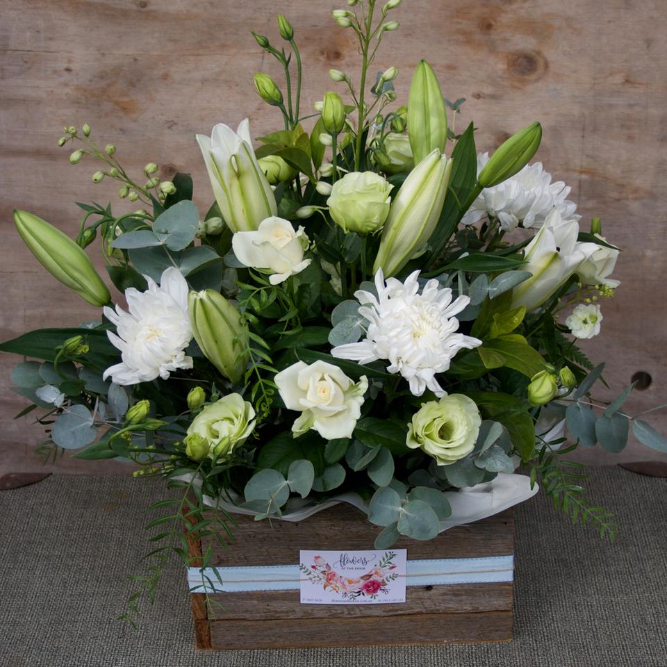 Divine baby boy flowers same day delivery by gold coasts luxury flower arrangement elegant izmirmasajfo