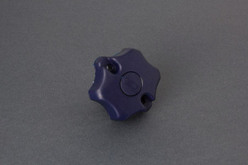 Fiamma Blue Bike Block Star Nut for Carry-Bike Bike Racks (98656-293)