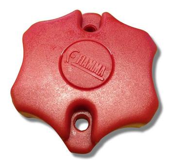 Fiamma Red Bike Block Star Nut for Carry-Bike Bike Racks (98656-290)