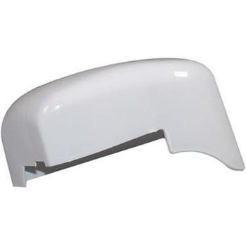 Fiamma F45i Left Hand Outer End Cap - Polar White (98655-014)