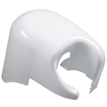 Fiamma F45i Right Hand Outer End Cap - Polar White (04274-01C)