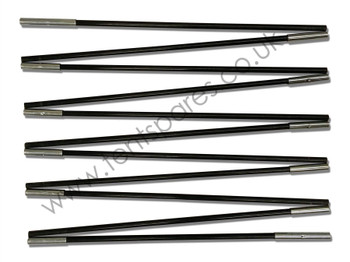Freedom Trail Lombok 250 Black Fibreglass Front/Rear Pole