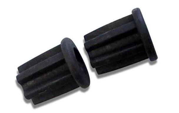 22mm Pole End Ring and Pin Plastic Bung (2)