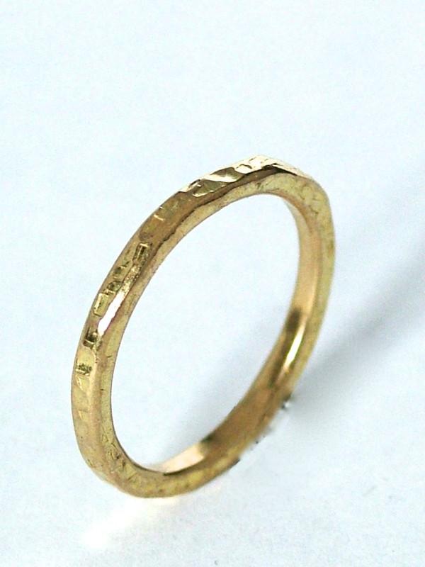 stacking gold ring