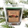 Square Maine Mountain Candle