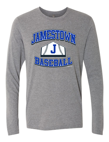 Jamestown Baseball 6071 Long Sleeve Tee