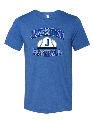 Jamestown Baseball 3413 Short Sleeve Tee